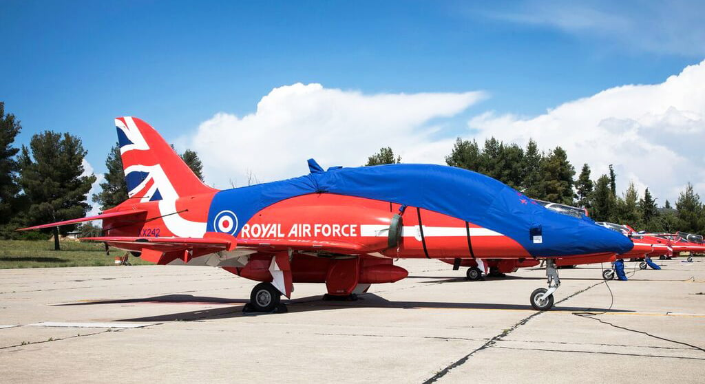 Proudly covering the Red Arrows