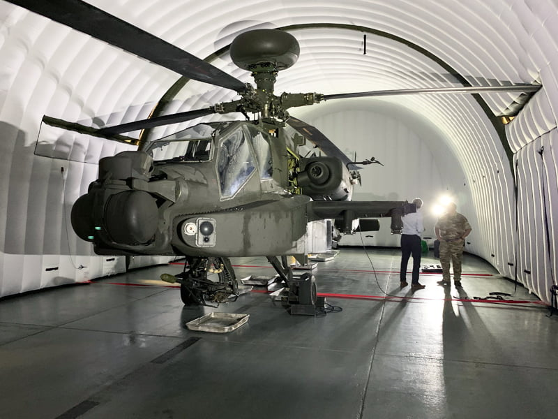 Helicopter Environmental Shelters