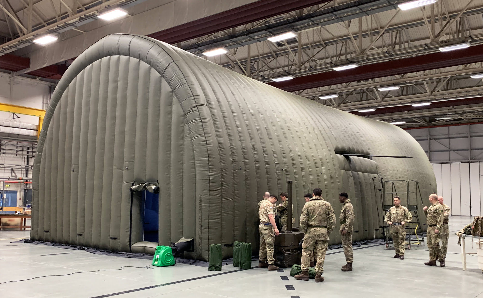 Helicopter Environmental Shelter
